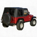 Rampage Replacement Soft Top (Black Diamond) - 99535