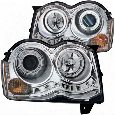 Anzo Projector Headlight Set; W/halo - Anz111214
