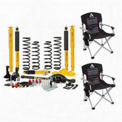 Arb 2-2.25 Inch Lift Kit With Chairs Package - Liftset02