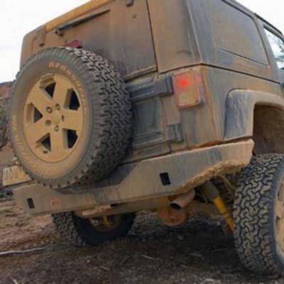 Arb Jeep Jk Wrangler Rockbar Rear Bumper (black) - 5650200