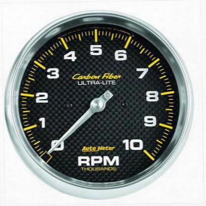 Auto Meter Carbon Fiber 5 Inch Tachometer - 4898