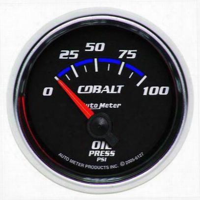 Auto Meter Cobalt Electric Oil Pressure Gauge - 6127