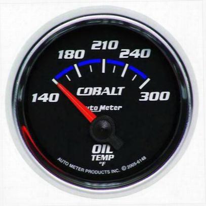 Auto Meter Cobalt Electric Oil Teperature Gauge - 6148