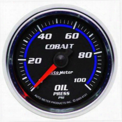 Auto Meter Cobalt Mechanical Oil Pressure Gauge - 6121