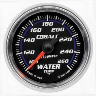 Auto Meter Cobalt Water Temperature W/ Peak Memory And Warning - 7955