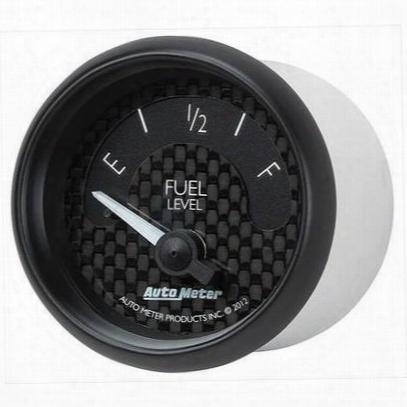 Auto Meter Gt Series Electric Fuel Level Gauge - 8014