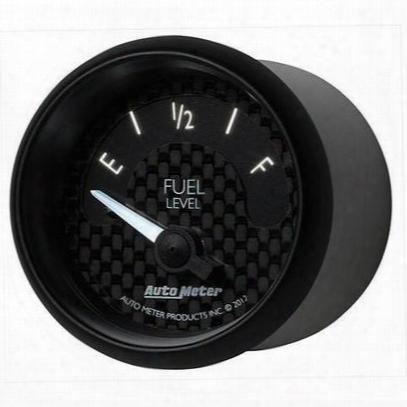 Auto Meter Gt Series Electric Fuel Level Gauge - 8016