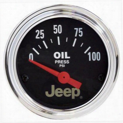 Auto Meter Jeep Licensed Oil Pressure Gauge - 880240