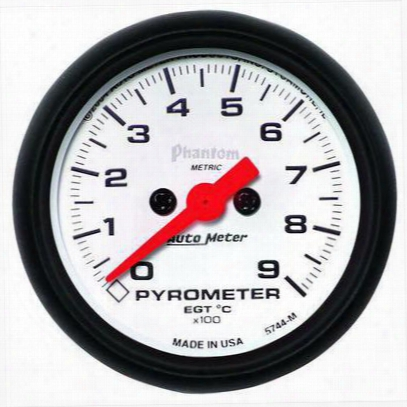 Auto Meter Phantom Electric Pyrometer Gauge Kit - 5744-m