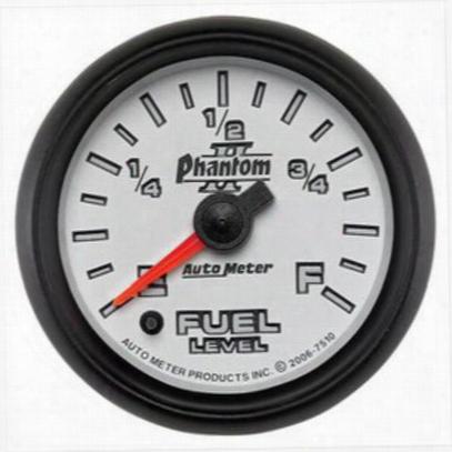Auto Meter Phantom Ii Electric Programmable Fuel Level Gauge - 7510