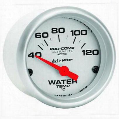 Auto Meter Ultra-lite Electric Water Temperature Gauge - 4337-m