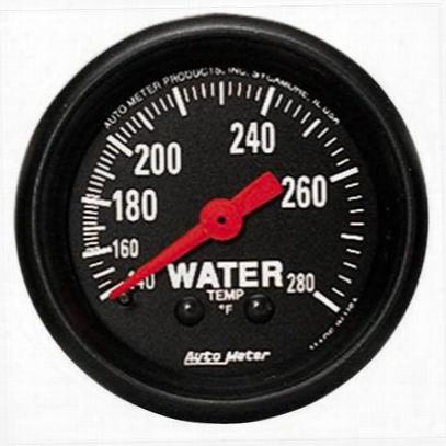 Auto Meter Z-series Mechanical Water Temperature Gauge - 2606