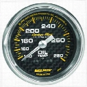 Auto Meter 2-1/16 Inch Mechanical Oil Temperature Gauge - 4741