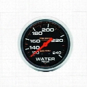 Auto Meter Pro-Comp Liquid-Filled Mechanical Water Temperature Gauge - 5432