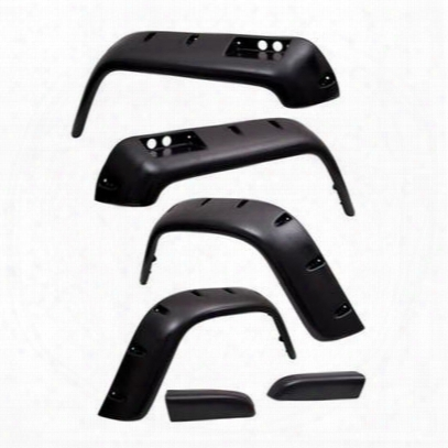 Rugged Ridge 6-piece All Terrain Fender Flare Kit (paintable) - 11632.2