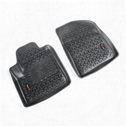 Rugged Ridge All Terrain Floor Liner, Front (black) - 12920.33