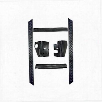 Rugged Ridge Body Armor Kit (black Plastic) - 11650.51