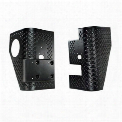 Rugged Ridge Body Armor Rear Tall Corner (black Plastic) - 11650.02