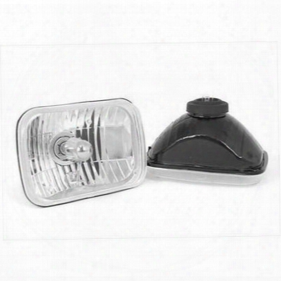 Rugged Ridge Crystal H2 Headlights (clear) - 12402.82