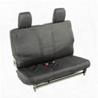 Rugged Ridge Elite Ballistic Rear Seat Cover (black) - 13266.01