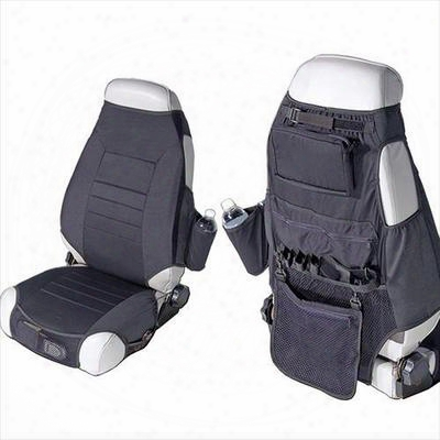 Rugged Ridge Fabric Seat Protectors (black) - 13235.01