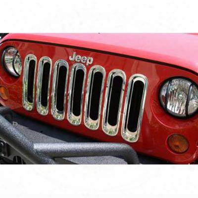 Rugged Ridge Grille Inserts (chrome) - 11306.2