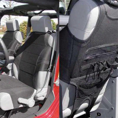 Rugged Ridge Neoprene Front Seat Cover (black) - 13235.2