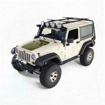 Rugged Ridge Sherpa Roof Rack System - 11703.01