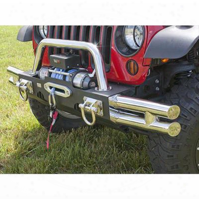 Rugged Ridge Tube Ends For Modular Front Bumper - 11540.73