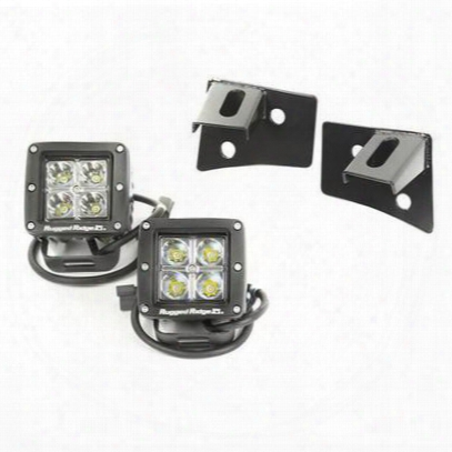 Rugg Ed Ridge Windshield Bracket Led Light Kit - 11027.1