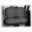 Rugged Ridge Neoprene Rear Seat Cover (Black) - 13265.01