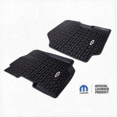Rugged Ridge All Terrain Floor Liner, Front (black) - Dmc-12920.22