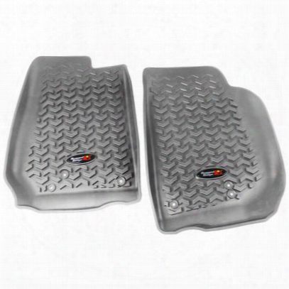 Rugged Ridge All Terrain Floor Liner, Front (gray) - 14920.03