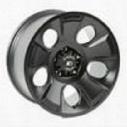 Rugged Ridge Drakon 18x9 Black Satin Alloy Wheel - 15302.02