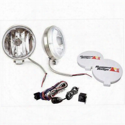 Rugged Ridge Halogen Two Light Slim Kit - 15208.58