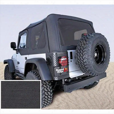 Rugged Ridge Xhd Replacement Soft Top With Tinted Windows (black Denim) - 13726.15