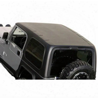 Smittybilt One-piece Hardtop With Upper Doors - 519801