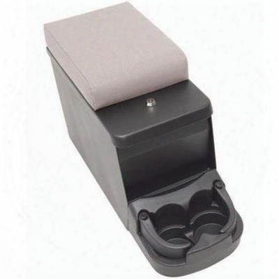 Smittybilt Security Floor Console, Charcoal (charcoal Gray) - 31711