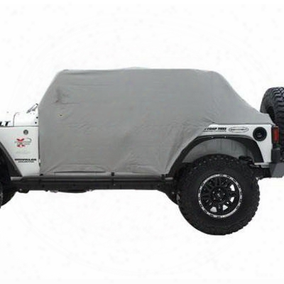 Smittybilt Water-resistant Cab Cover With Door Flaps (gray) - 1068