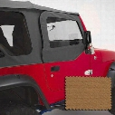 Rugged Ridge Upper Soft Door Skins - 13717.37