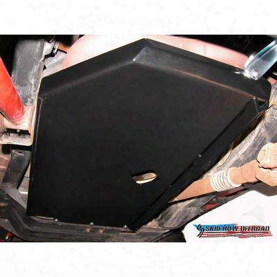 Skid Row Off Road Engine Skid Plate (black) - Jp-0019
