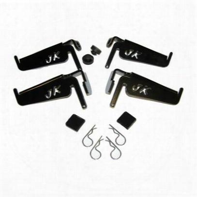 Skid Row Off Road Jk Logo Foot Peg Set - Jp-5020