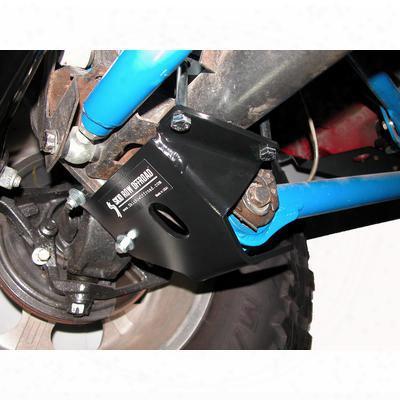 Skid Row Off Road Lower Control Arm Skid Plates (black) - Jp-0101