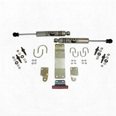 Skyjacker Fox Dual Steering Stabilizer Kit (silver) - 5204
