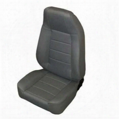 Smittybilt Factory-style Recliner Front Seat (charcoal) - 45011