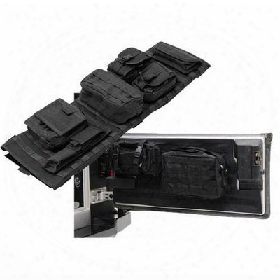 Smittybilt G.e.a.r Overhead Console Package, Black Denim - Gearoh5