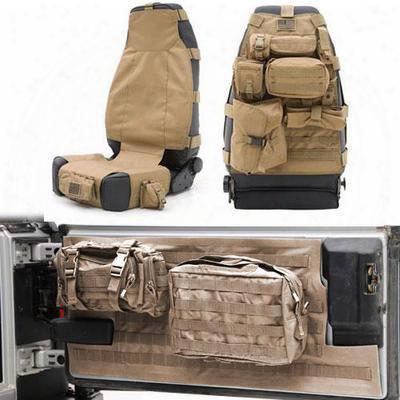 Smittybilt G.e.a.r. Seat Cover Kit - Geartan1