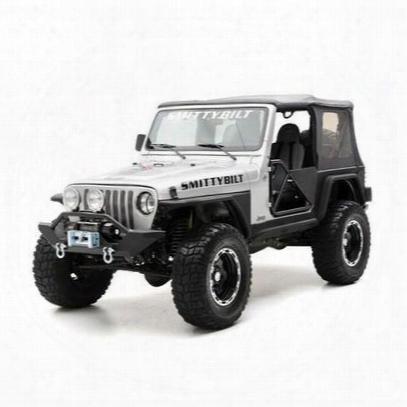 Smittybilt Jeep Cj Xrc Rear Fender Flares (paintable) - 76879