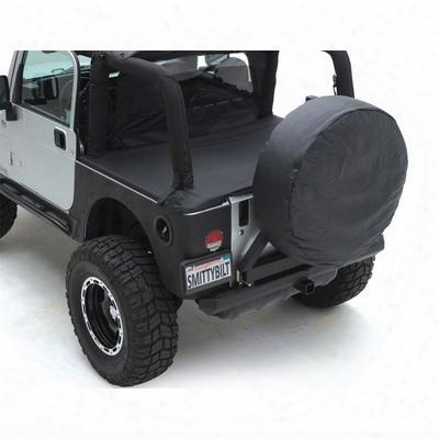 Smittybilt Jeep Tonneau Cover In Black Diamond - 761335
