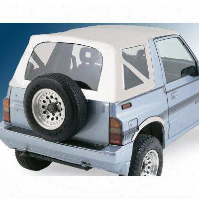 Smittybilt Replacement Soft Top (white) - 98752
